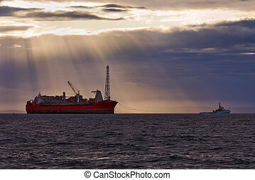 Oil and gas - FPSO oil production vessel