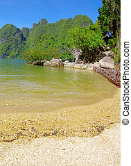 island in thailand - james bond island in thailand, ko tapu