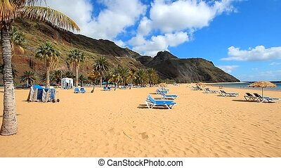 Las Teresitas beach in Tenerife, Cannarias Islands