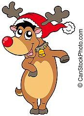 karácsony, rénszarvas