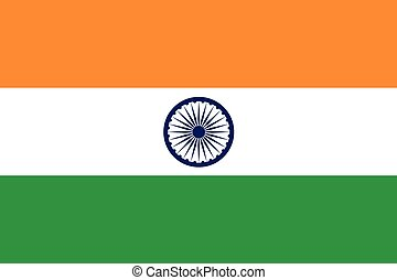 The official flag of India - The official flag of the...
