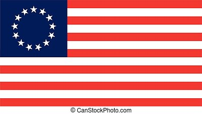 Besty Ross Flag - The Besty Ross Flag of the United States...