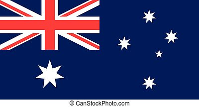 The Commonwealth of Australia official flag - The official...
