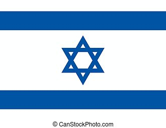 The flag of the State of Israel - The official flag of the...