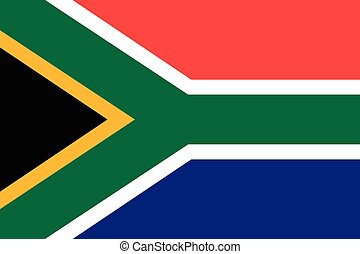 Republic of South Africa official flag - The official flag...