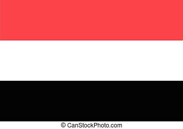 Republic of Yemen official flag - The official flag of the...