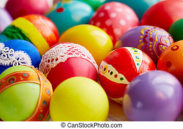 Decorations for Easter - Creative Easter eggs