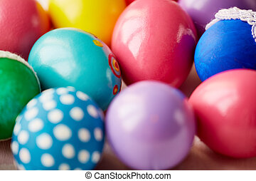 Decorative Easter eggs - Variety of decorative Easter eggs