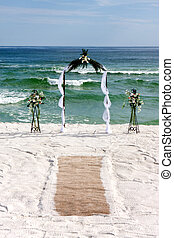 Bridal Arch With Carpet
