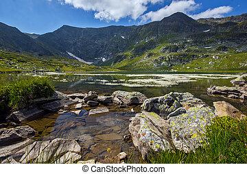 The Twin Lake, The Seven Rila Lakes, Rila Mountain, Bulgaria