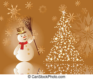 christmas background - Beautiful Christmas New Year...