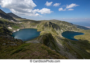 The Eye and The Kidney Lakes, The Seven Rila Lakes, Rila...