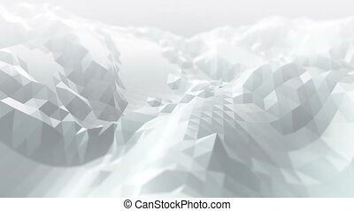 Abstract modern business science polygon background -...