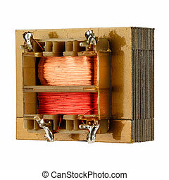 A small transformer - Small transformer used in electronic...