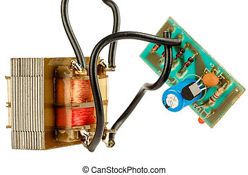 Simple electronic circuit - Electronic device consist of...