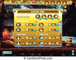 Example of store sales boosters for computer games