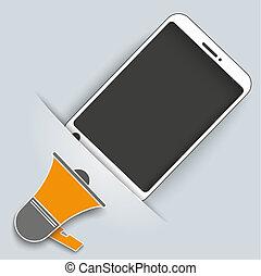 Convert Smartphone Bullhorn