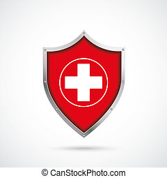 Protection Shield Cross