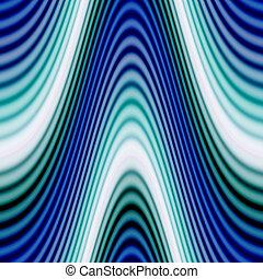 Funky Glowing Waves