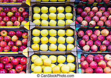 various apples