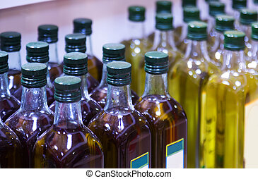 assortment of olive oil