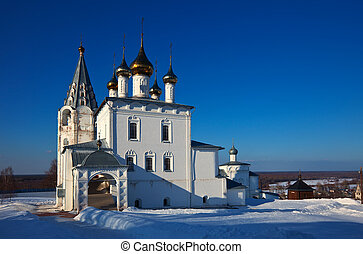 Trinity Cathedral (build in 1681-1689) at Gorokhovets in...