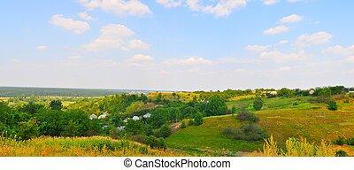 Ukrainian village.