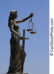Lady Justice - image of the lady justice statue