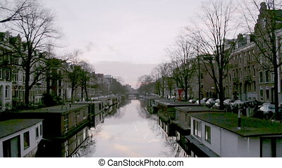 Amsterdam Jacob van - View of heritage city canals Jacob van...