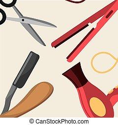 barber shop design, vector illustration eps10 graphic