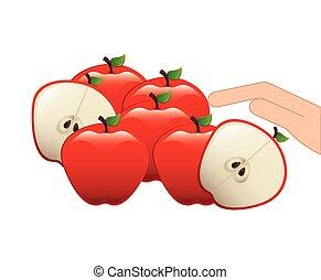 healthy fruits