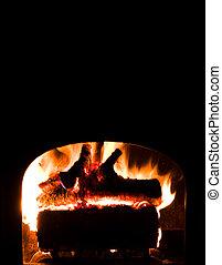 Background Fireplace