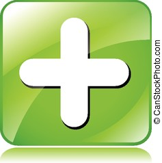 green plus icon
