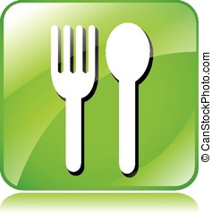 green dining icon