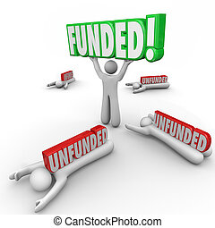 Funded Vs Unfunded Raising Capital Investment Best Start Up...