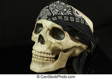 Pirate Skull - Pirate skull with bandana