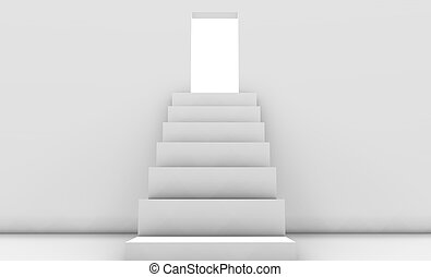 Stepping into the White Light in 3d