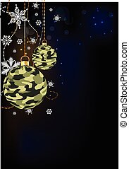 camoflage baubles