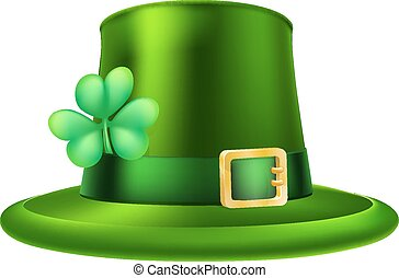 St Patricks Day Hat - An illustration of a St Patricks Day...