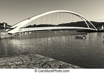 Bridge in Plentzia, Bizkaia, Basque Country, Spain
