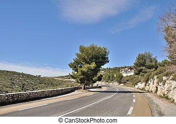 Cassis - France, Bouches du Rhone, Cassis,Road of the Ridges...