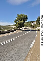 Cassis - France, Bouches du Rhone, Cassis,(Road of the...