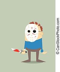 Cartoon serial killer