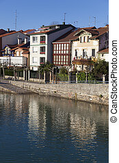 Reflect in Plentzia, Bizkaia, Basque Country, Spain