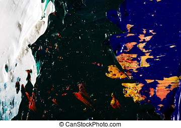 background abstract oil on canvas