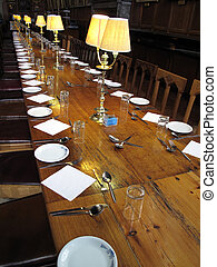 Dining Tables Christ Church College - The Great Dining Hall...