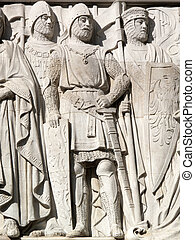 Norman Medieval Knights - Medieval Crusade Knights from the...