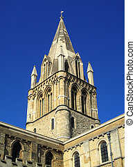 Christ Church Cathedral - The spire of Christ Church...
