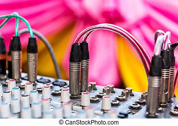 control audio panel