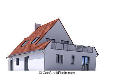 Architecture model, house e